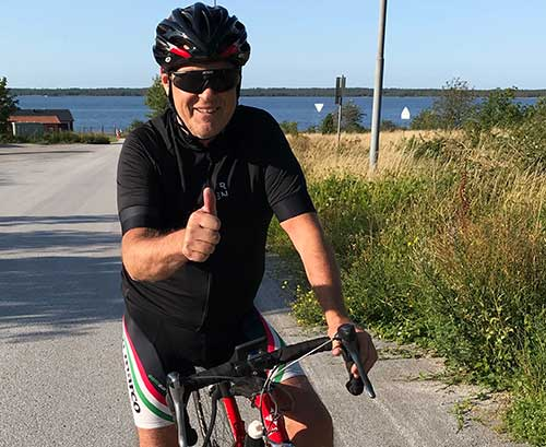 100 mil på cykeln